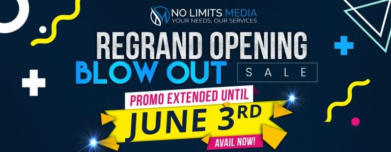 Regrand Opening - June 3rd 2019