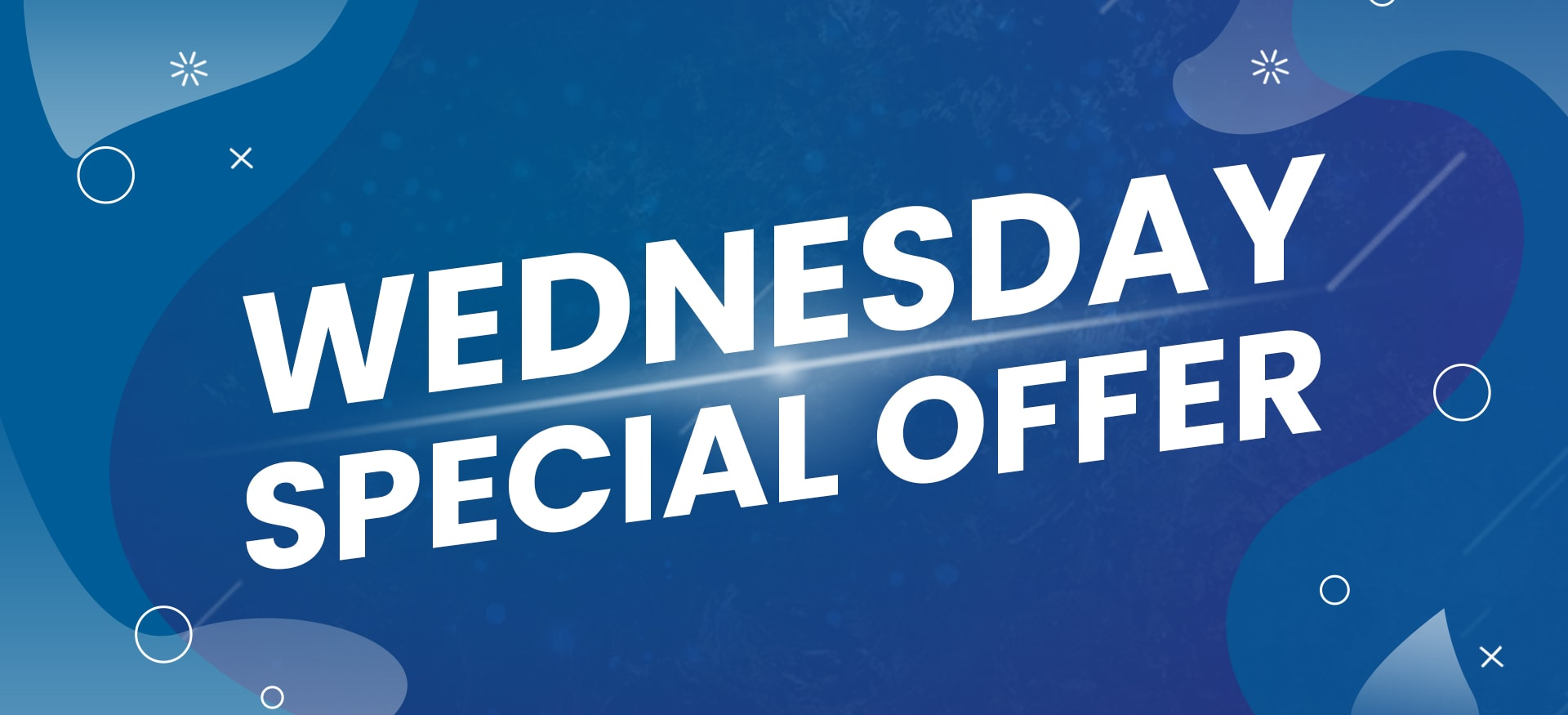 Wednesday special offer_Web Banner